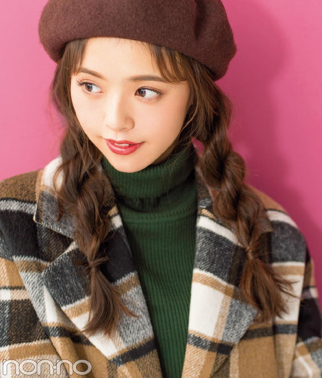 クリスマスのイルミネーションデート♡ ロングはベレー&ヘアアレンジで!_1_1