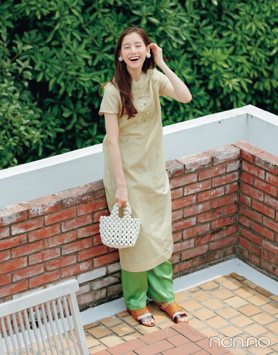 優子がお答え! 夏色コーデQ&A vol.2【ノンノモデルの夏私服:新木優子】_1_2