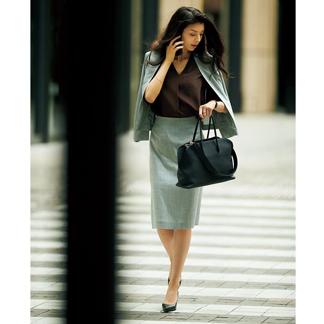 涼軽スーツ×高機能白パンツは夏の必需品!清涼感を意識した「出張コーデ」 五選_1_1-5