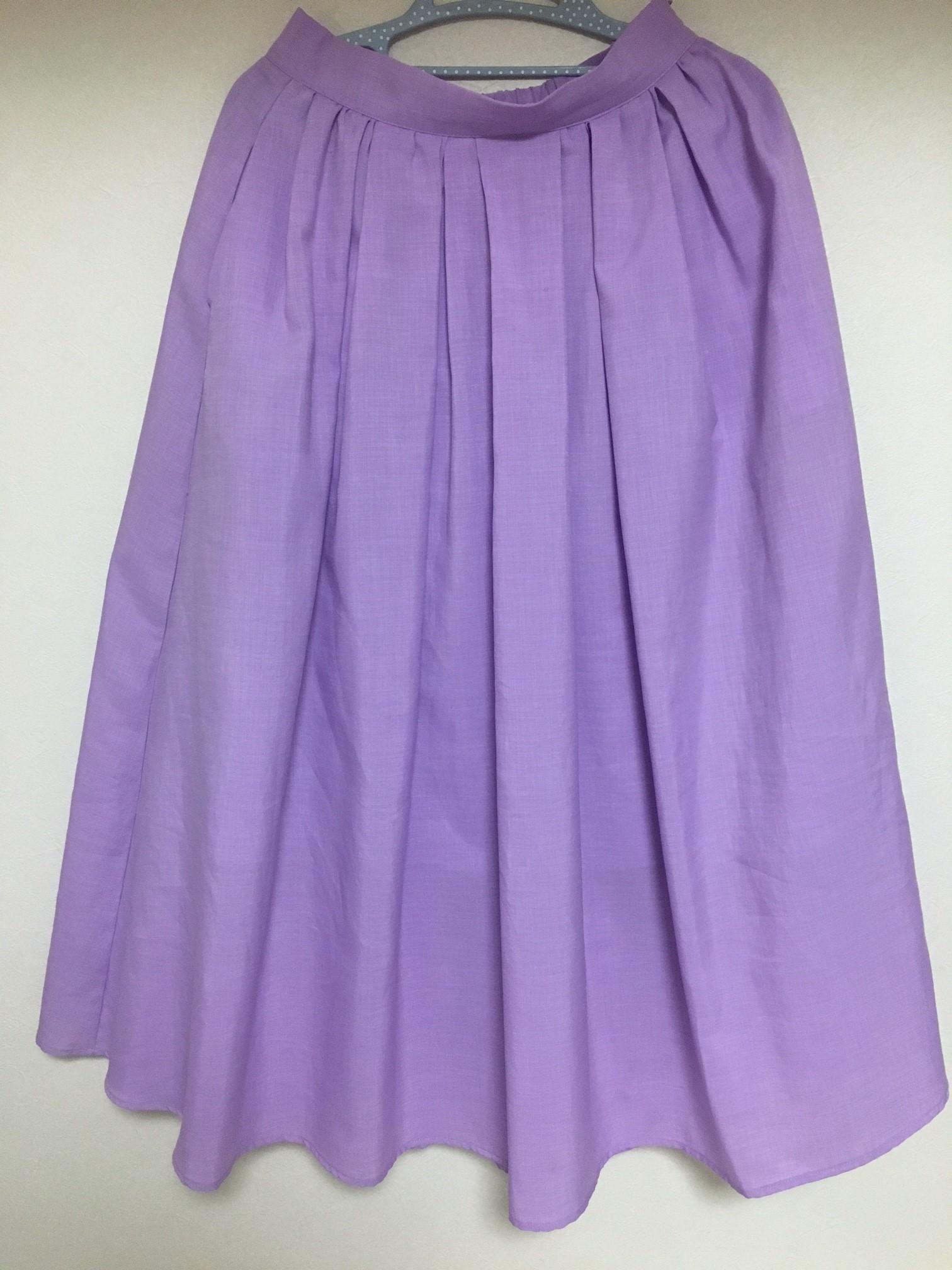 大きめさんの「ふんわりスカート選び」とプチプラGUバレエシューズ_1_2