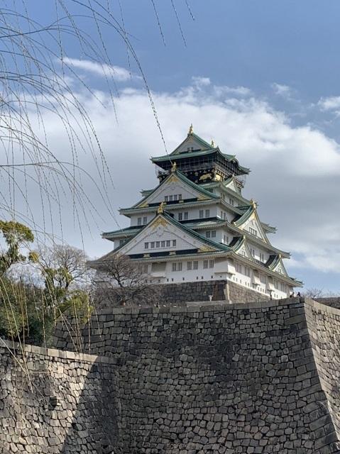 大阪城公園の梅林と至福のイチゴパルフェ_1_1-3