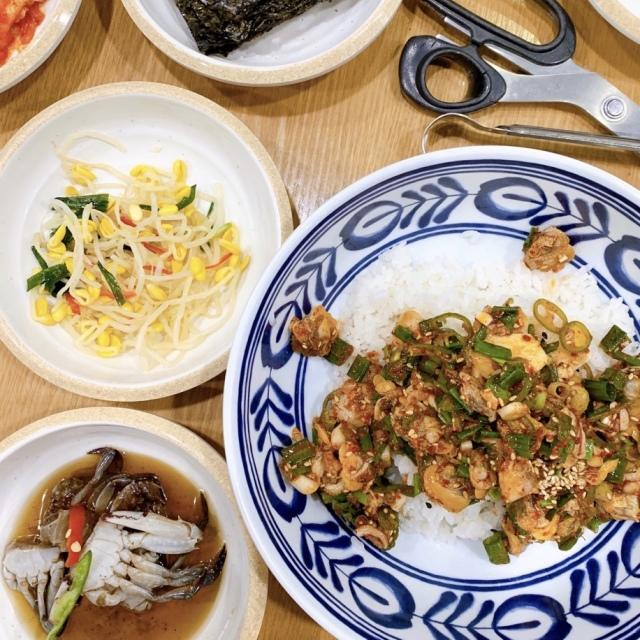 ソウル2019冬。本当に美味しかった店だけ②ピリ辛の貝&ネギだくビビンパと海鮮鍋_1_5