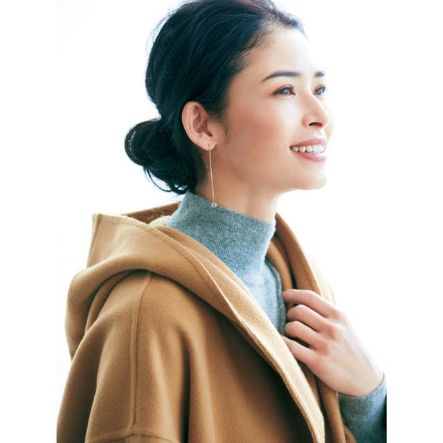 """""""小柄さん""""の冬服 顔まわりルール"""