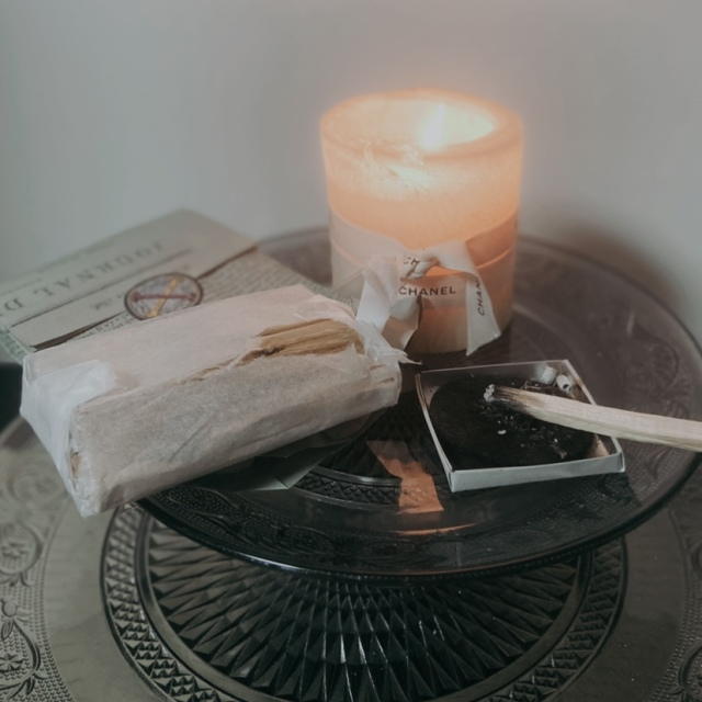 朝の瞑想&ヨガに「聖なる樹」パロサント_1_5