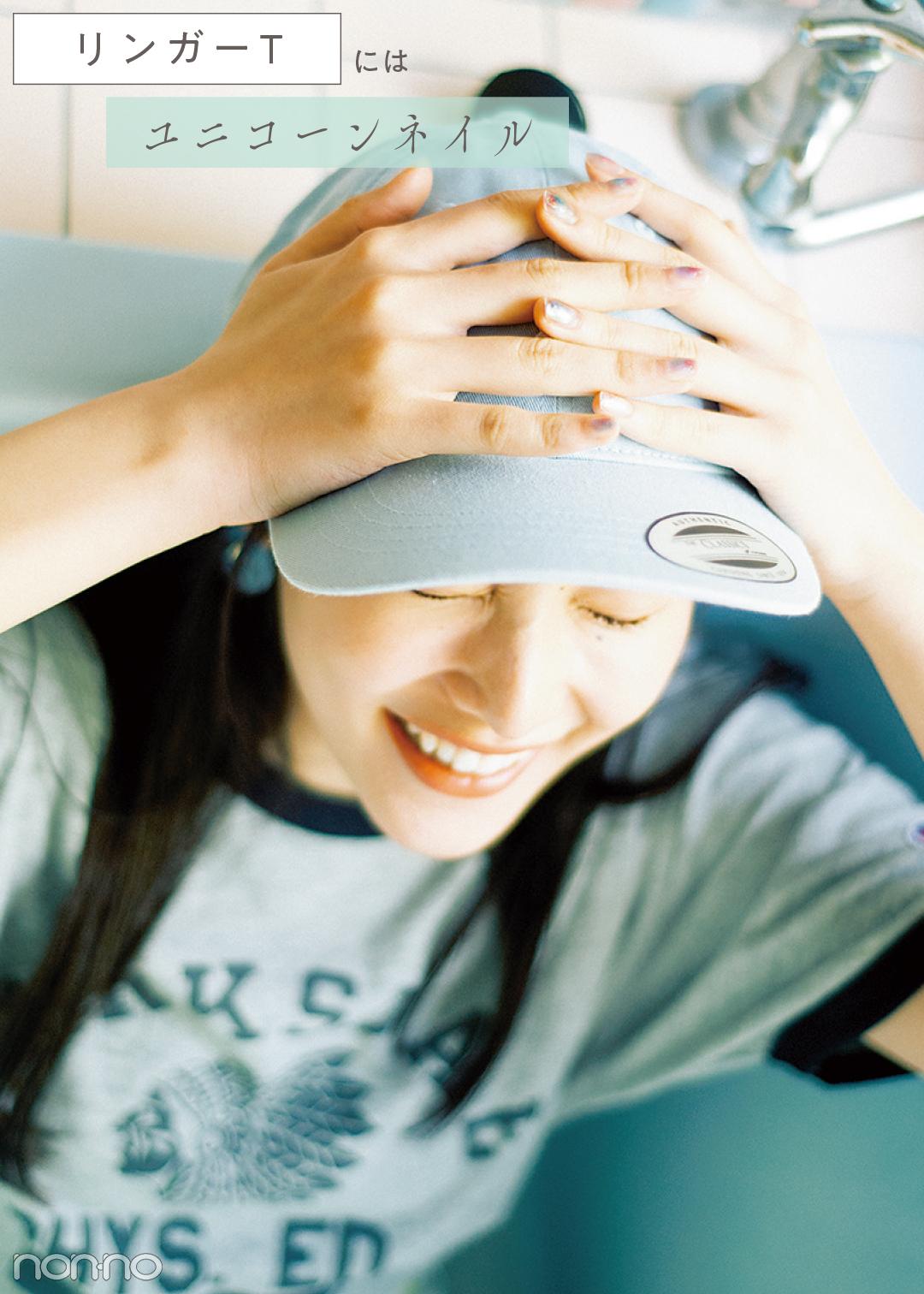 【ネイル2019夏】Tシャツのタイプで変える♡ 今っぽおしゃネイル7選!_1_14