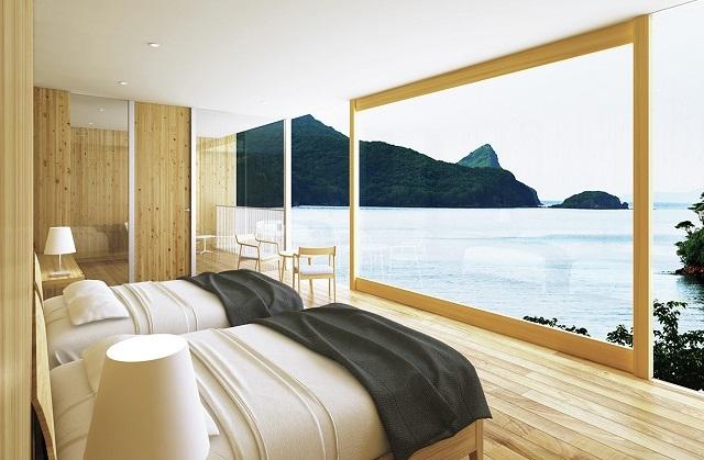 島の絶景に包まれて眠れるホテル『Entô(エントウ)』が隠岐に誕生