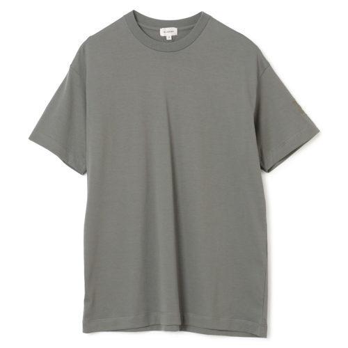 BLAMINK コットンクルーネック 刺繍 ショートスリーブTシャツ