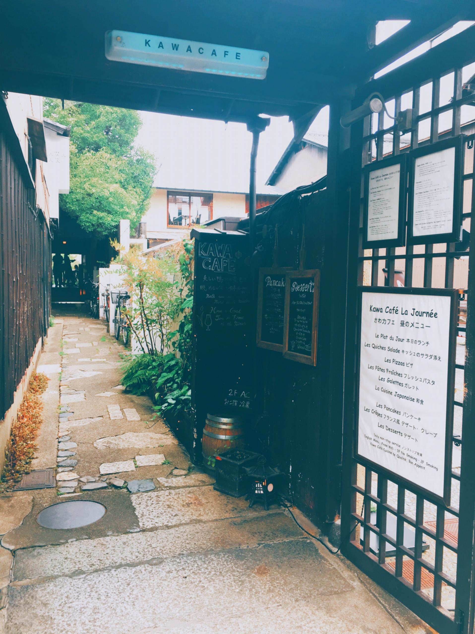 【このKYOTO cafeがアツイ!!】鴨川を見ながらランチ♡ kawacafe に行ってきました❁.*・゚_1_2