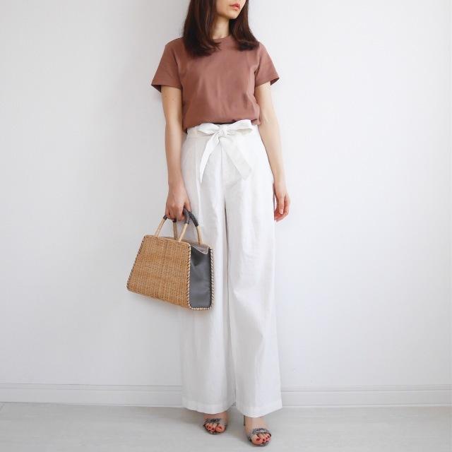 40代が輝く、大人のための上品カジュアルなTシャツコーデカタログ | アラフォーファッション_1_27