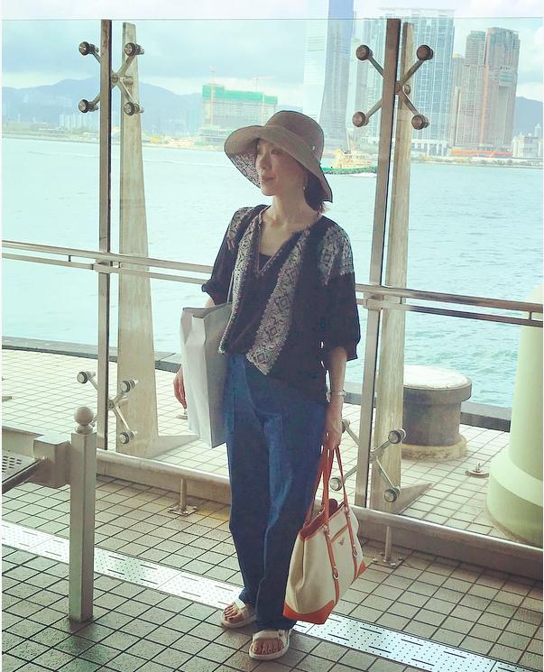 ハッピーバースディ IN 香港☆涼楽な旅服で美味しく。アクティブに!_1_2-2