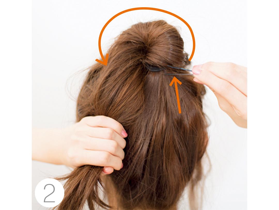 冬映え♡ ヘアアレンジ、ワンピに似合うまとめ髪をチェック!_1_2-3
