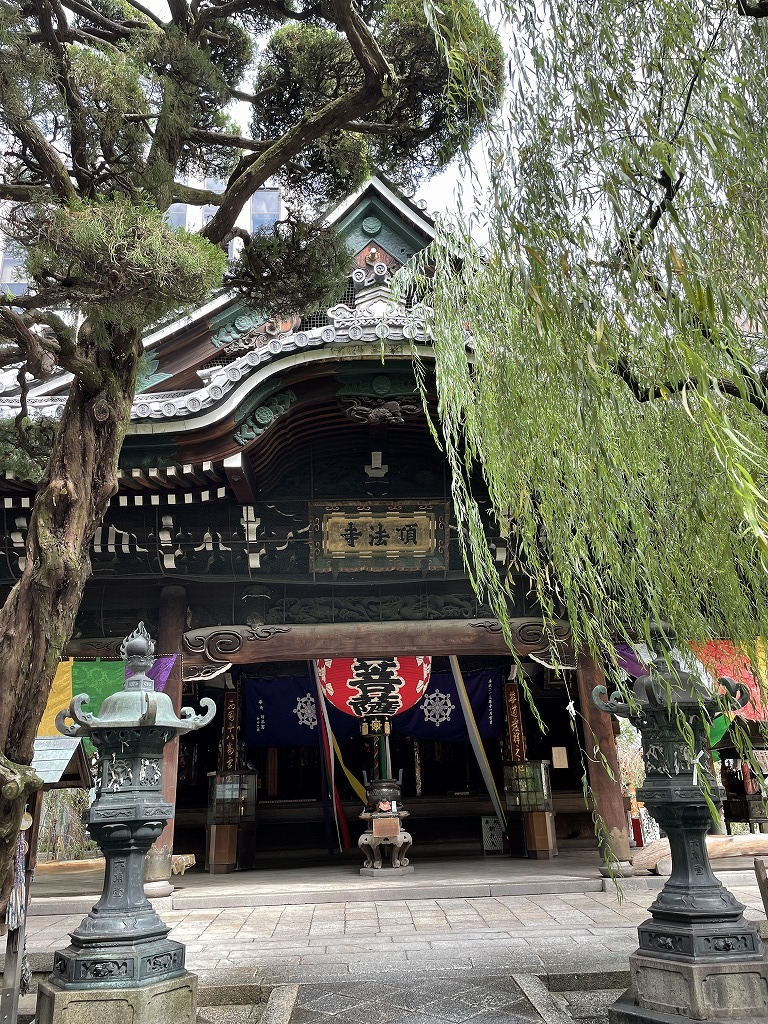 旬ベージュコーデで秋の京都・六角堂散策_1_3