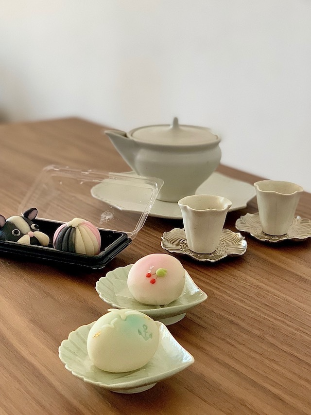 鎌倉手毬 和菓子 境道子 作家 器