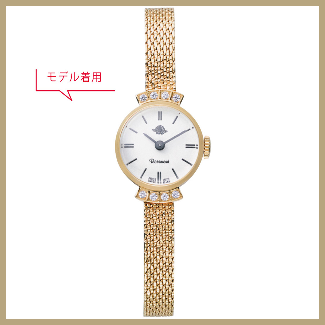 憧れられる女子の腕時計は上品小さめフェイスが鉄板♡ きれいめ美女ウォッチ5選!_1_3-1
