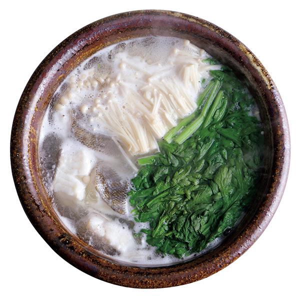 豆板醤のタレでメリハリを! 白身魚と春菊の鍋【絶品鍋レシピ28days】_1_1
