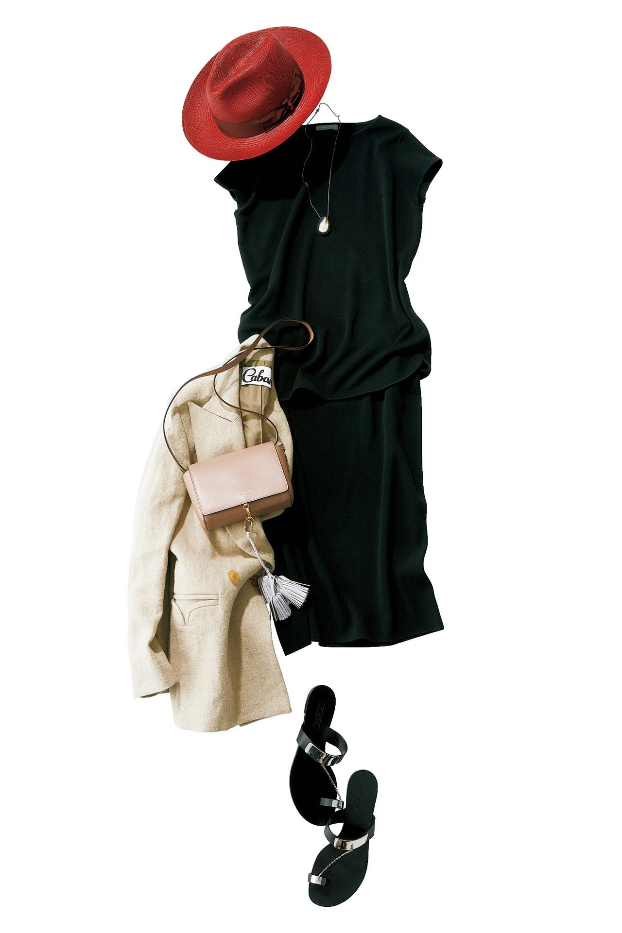 着るだけで女性らしく。ワンピース見えニットアップ 五選_1_1-5