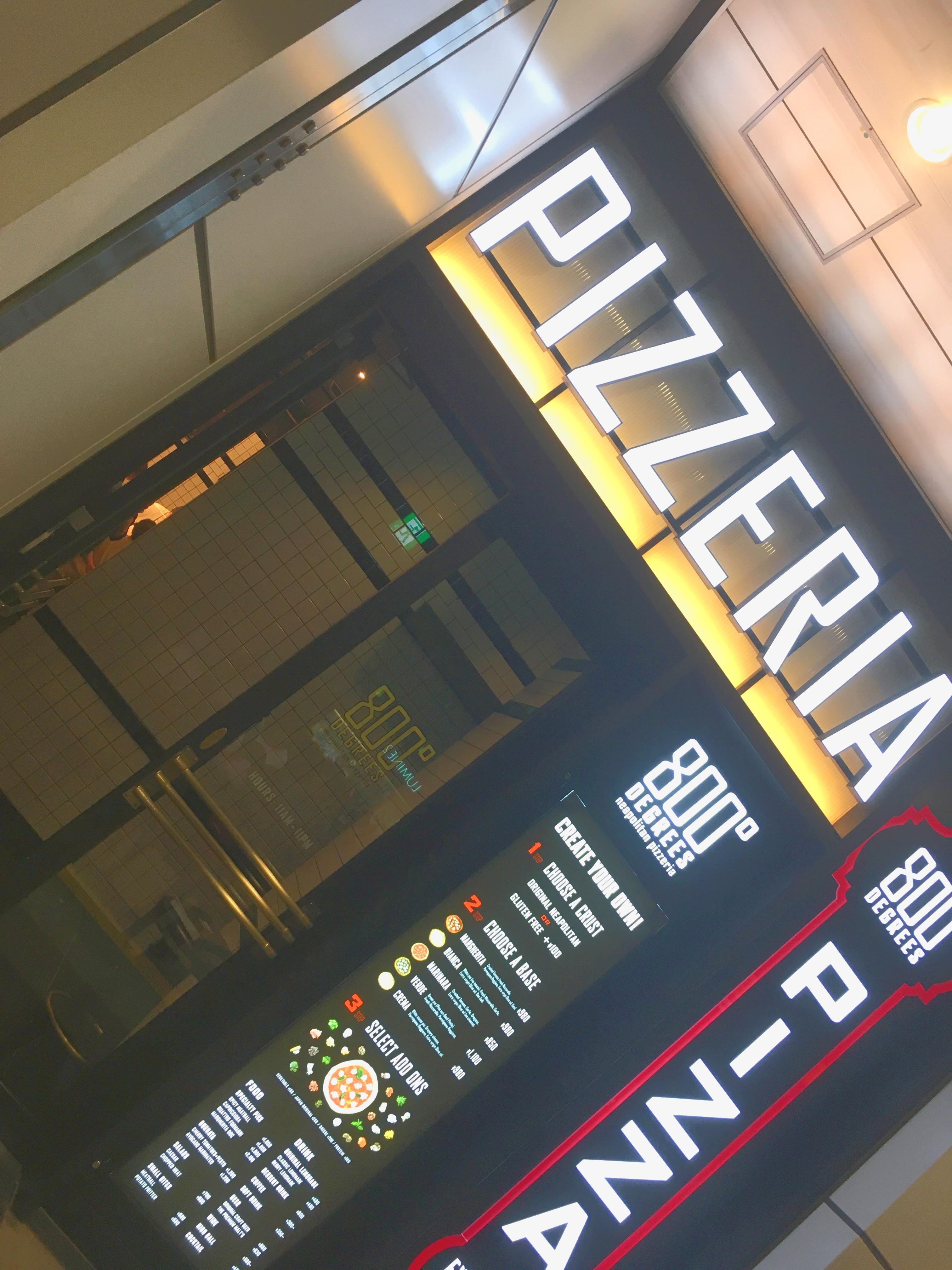 自分好みのピザが楽しめる!新宿の【800° DEGREES】_1_1