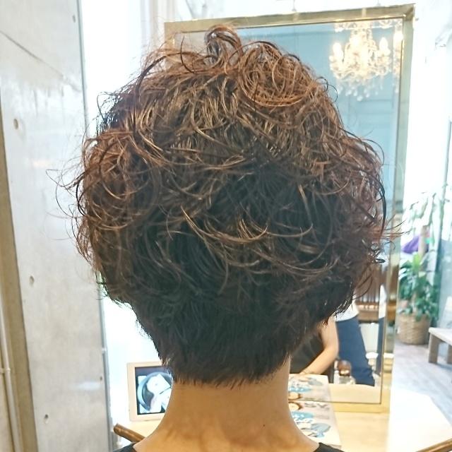 ショートヘアスタイルも季節に合わせて!_1_3-2