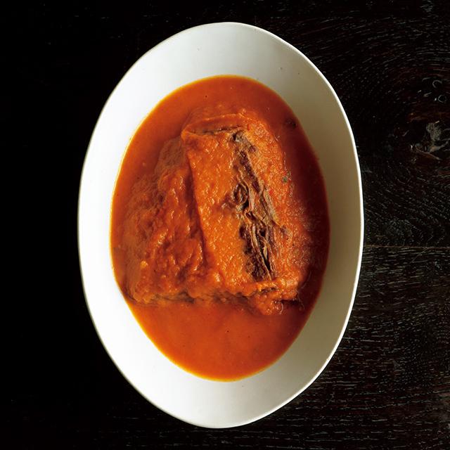牛肉のパプリカ煮込み