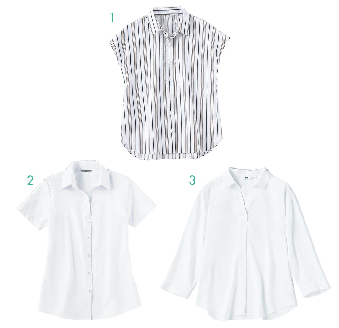 ガンガン洗えるシャツ&ブラウスの名品はこちら!【夏のオフィスカジュアル】_1_5