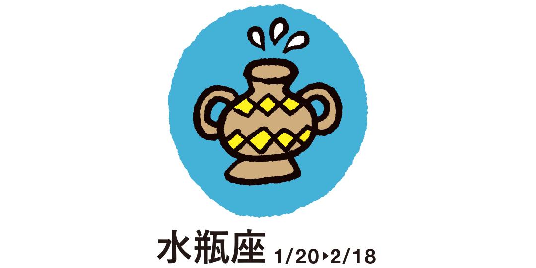 水瓶座 1月20日~2月18日