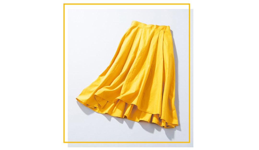 新木優子のきれい色揺れスカート着回し♡ ¥4250で最高おしゃれな4Days!_1_1