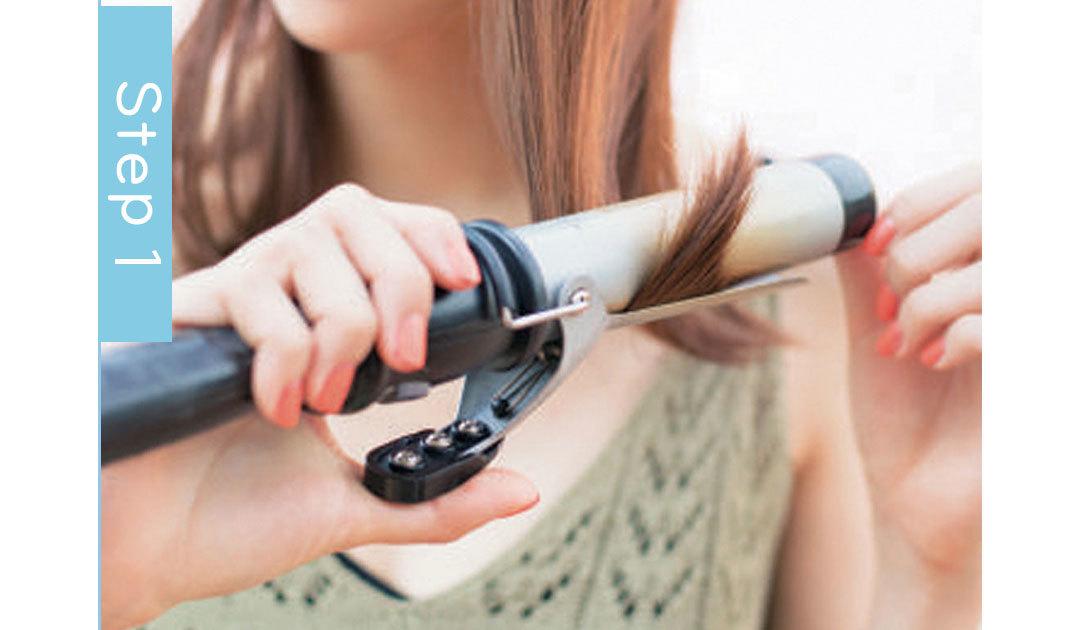 ミディアムの夏イベ映えヘアアレンジ、外ハネはこう作る!_1_4-1