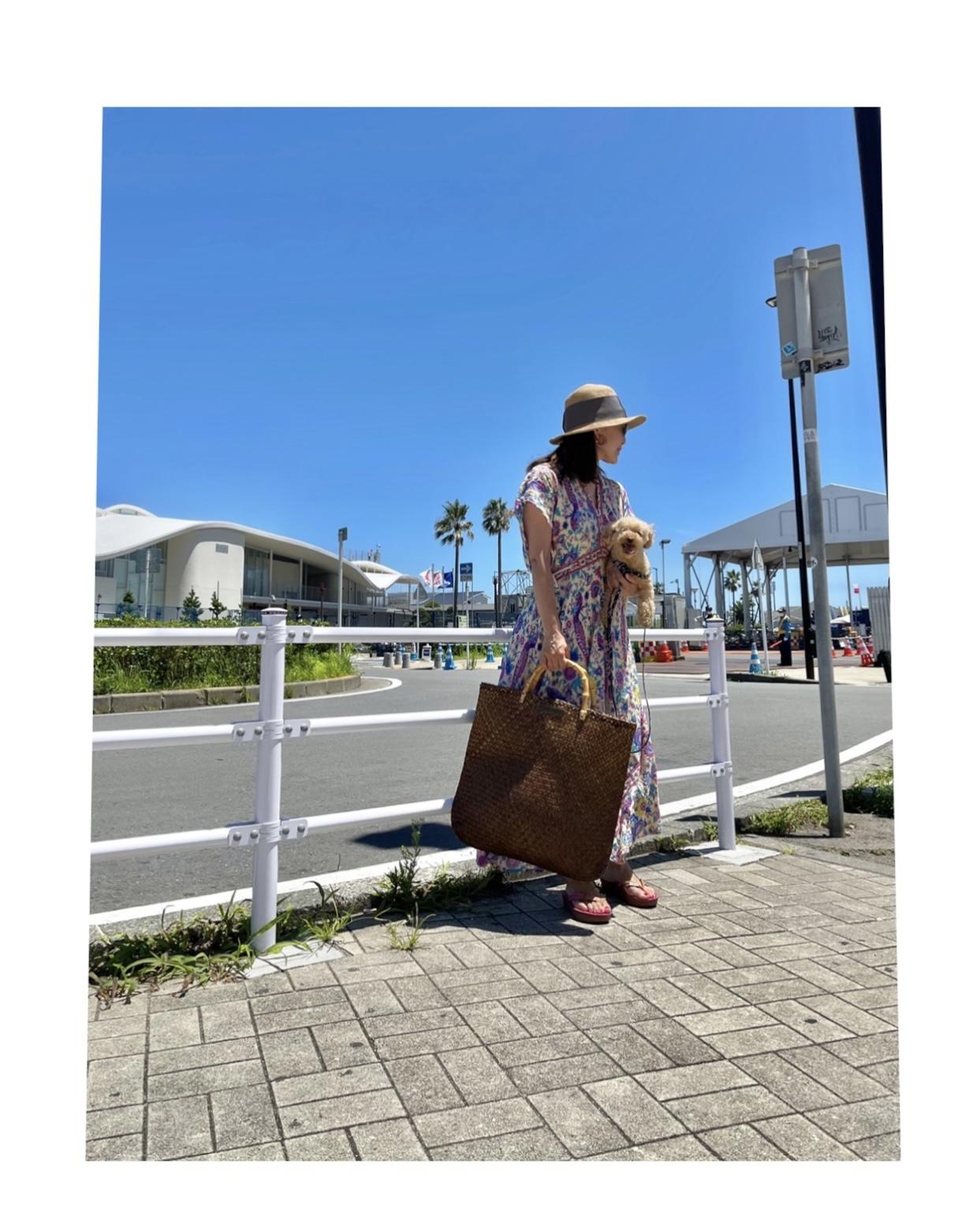 カジュアルリゾートワンピで江ノ島ヨットハーバーへ_1_5-2
