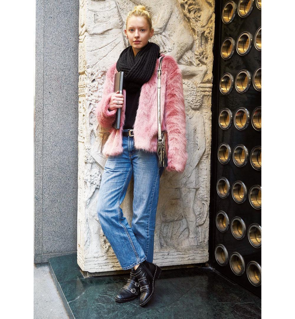 「デニム」は短め、スキニー、カットオフの三択【ファッションSNAP ミラノ・パリ編】_1_1-1