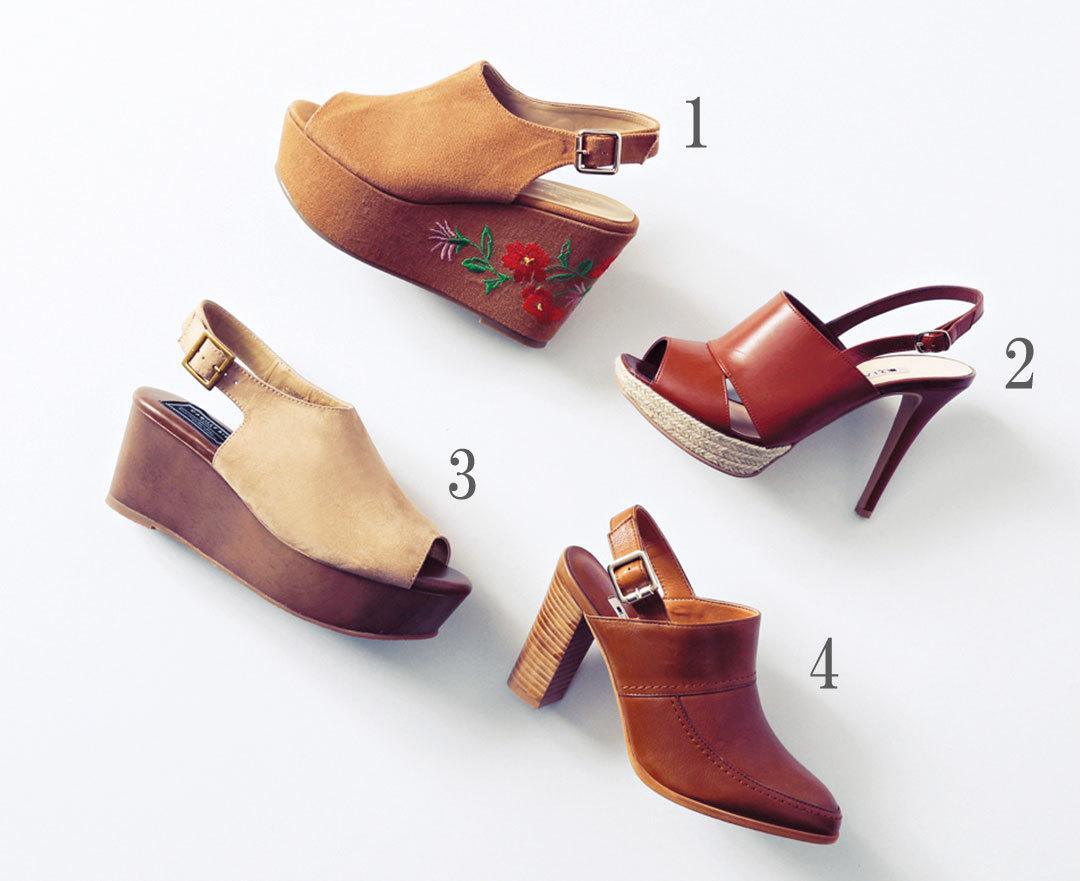 歩きやすい夏のトレンド靴ならコレ☆今買うべきサボ BEST11!_1_2