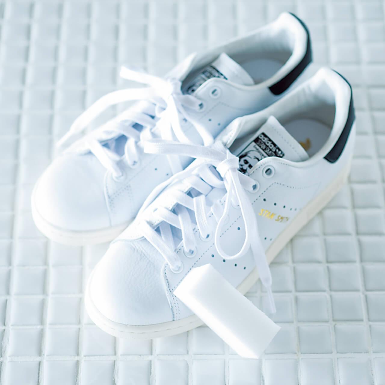 洗濯王子が解決!真っ白をキープする白スニーカーのお手入れ方法とは?_1_1