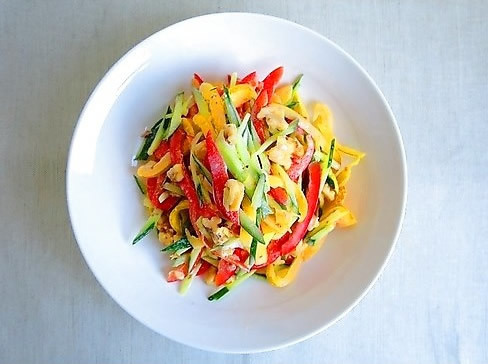 完熟野菜で作ってほしい、彩り鮮やかパプリカサラダレシピ_1_1
