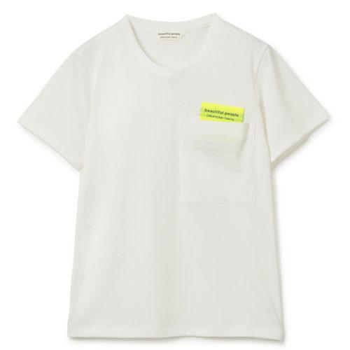 beautiful people suvin royal jersey big QOLtag T-shirts