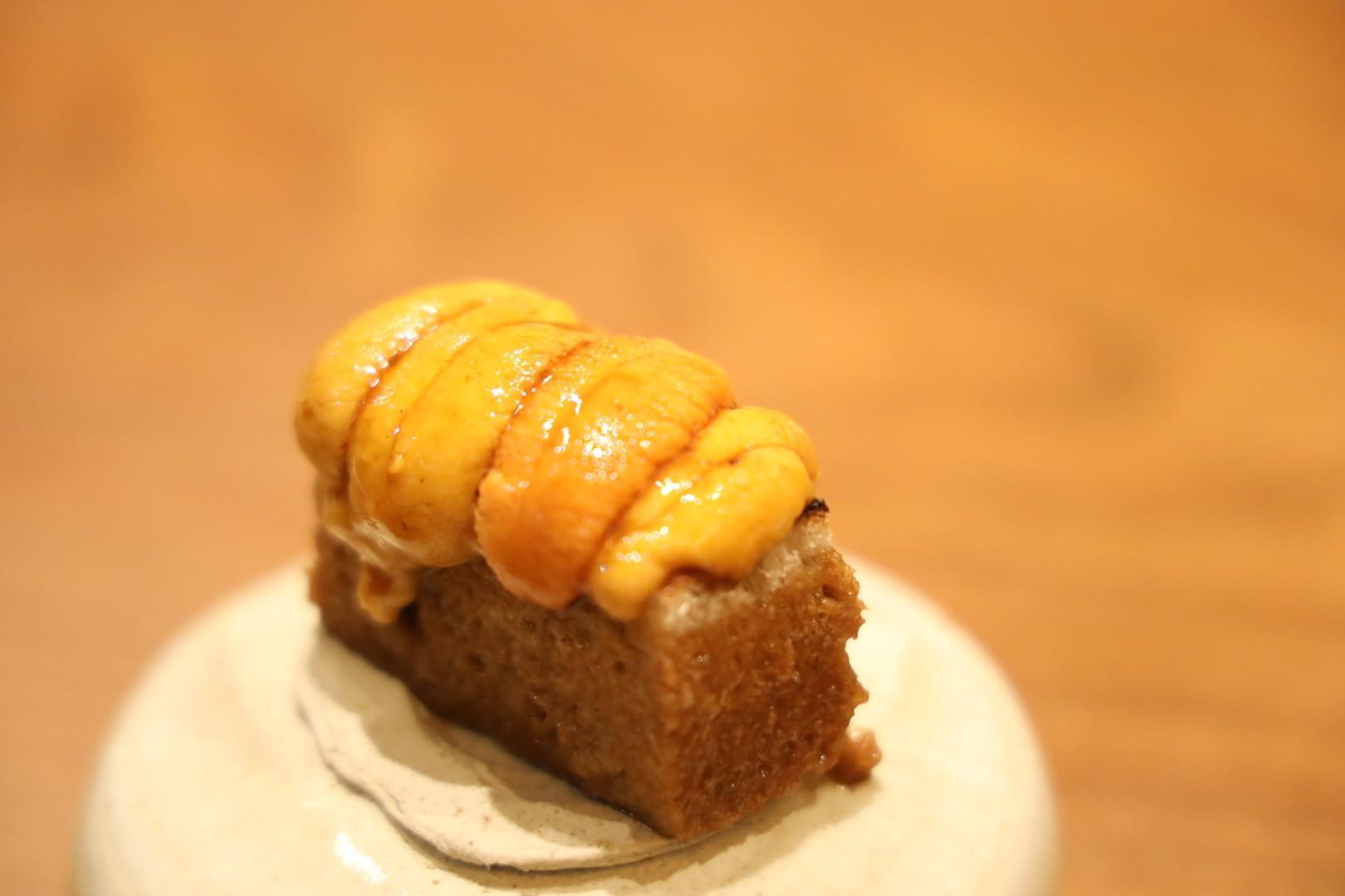 雲丹トースト