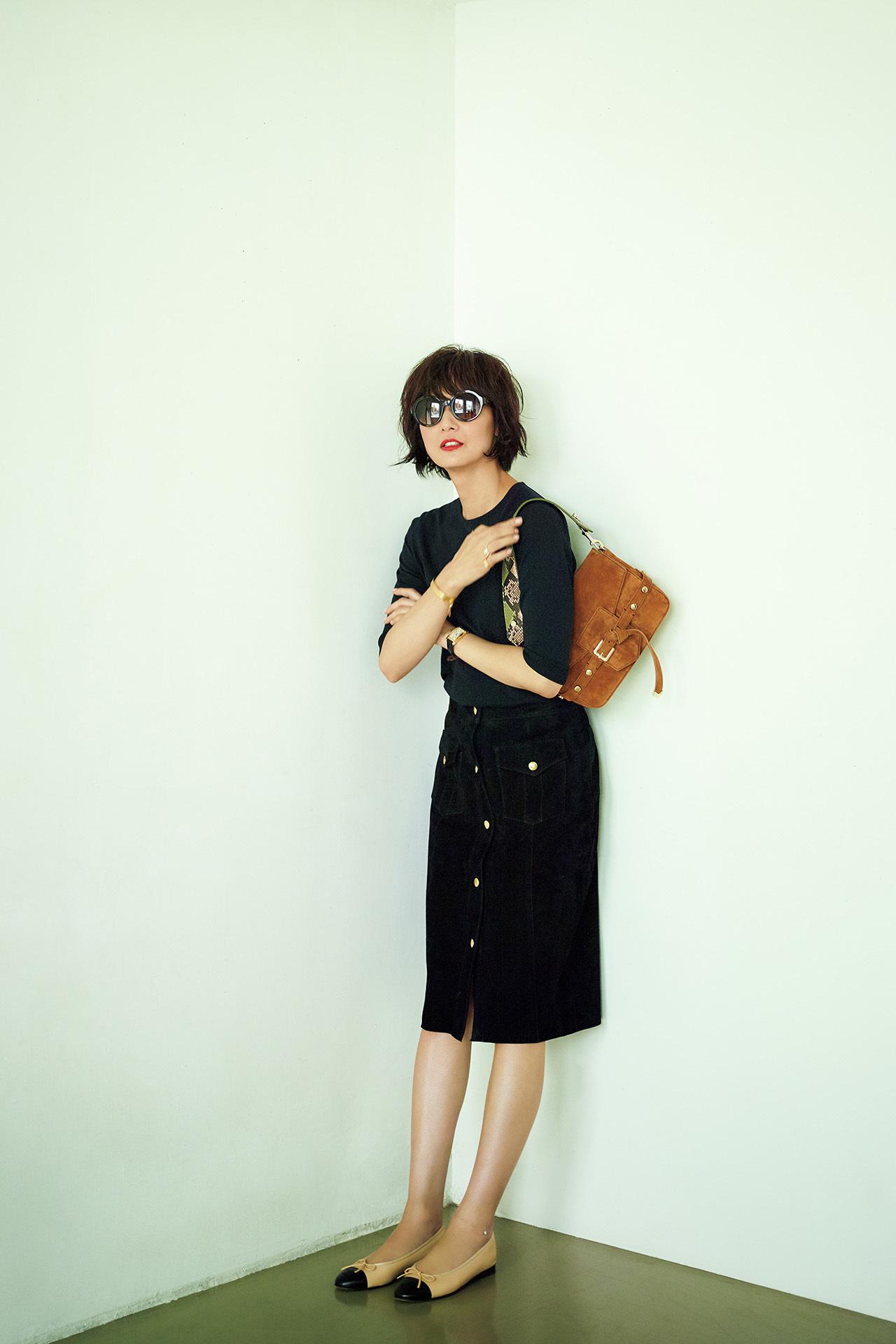富岡佳子、夏の私服全部見せます! 五選_1_1-5