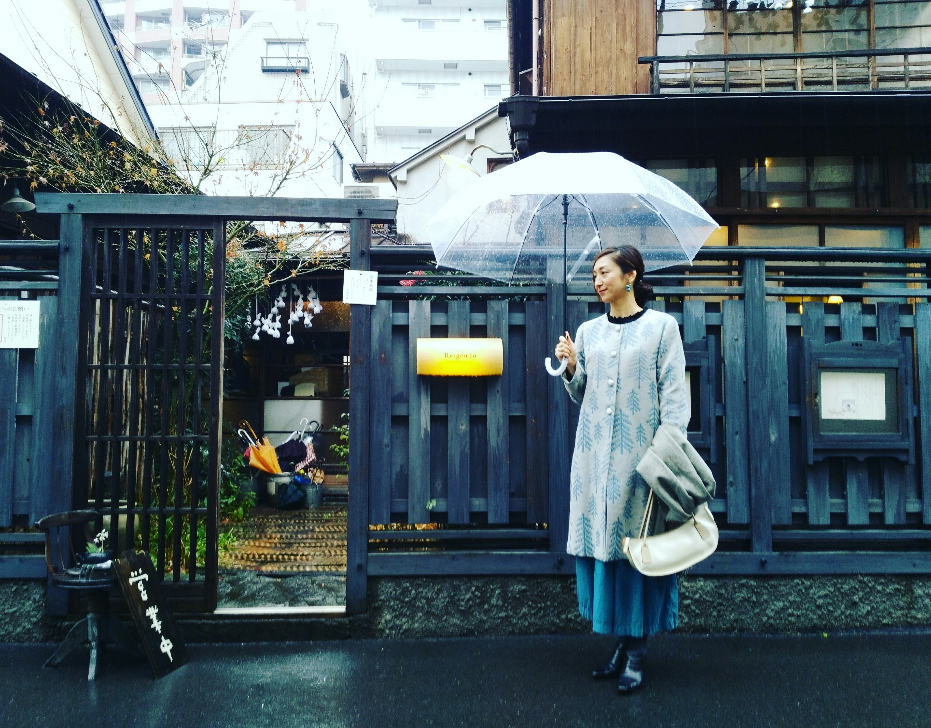 雨の古民家カフェ in 西荻窪2軒_1_1