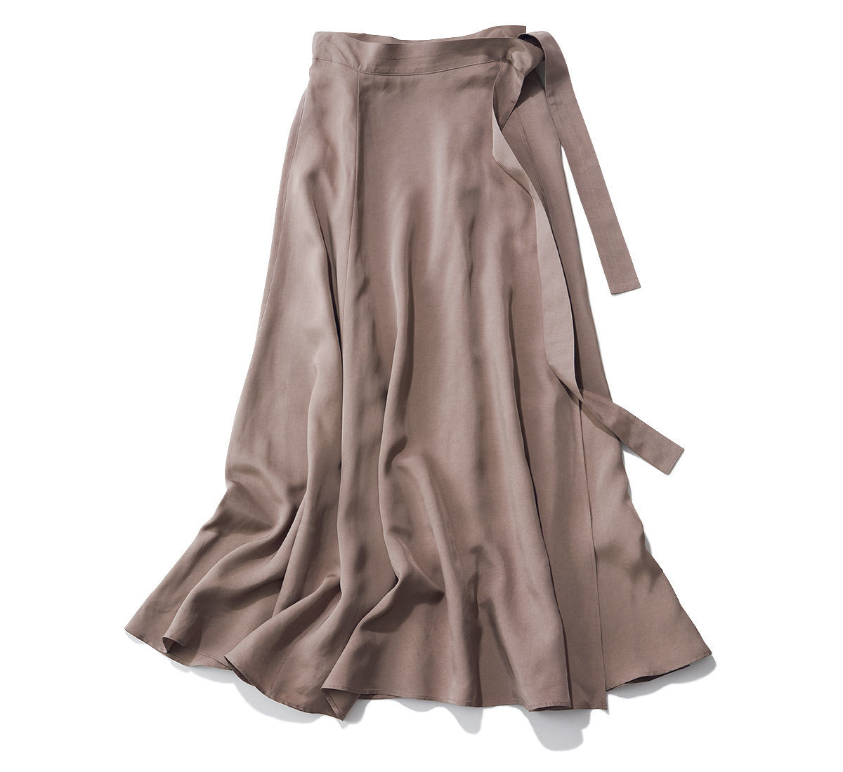 Chaos 光沢ラップスカート