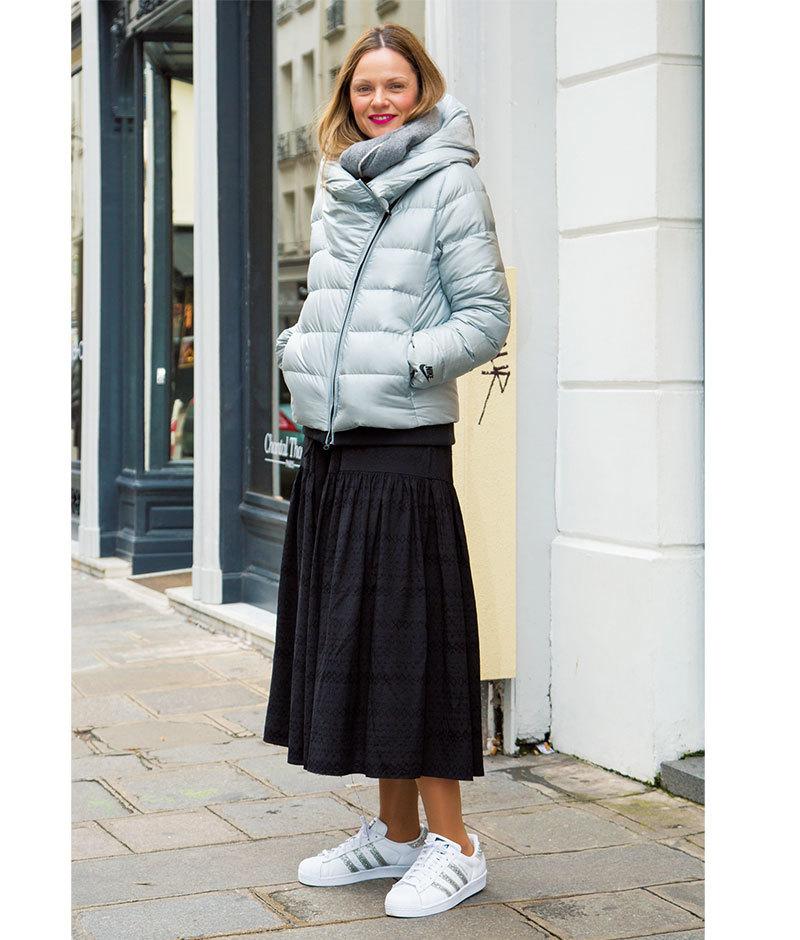 「女っぷりスカート」は辛口仕上げが正解【ファッションSNAP ミラノ・パリ編】_1_1-3