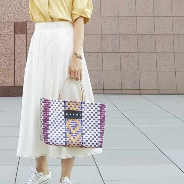秋晴れの日はきれい色×スカートでYellow Yellow Happy_1_3