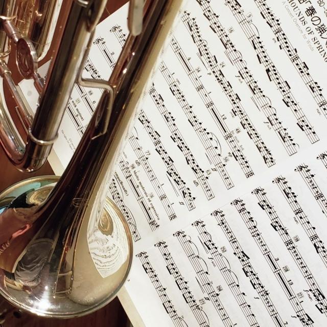 「52歳からトランペットを練習。 夫のトロンボーンと合奏も」
