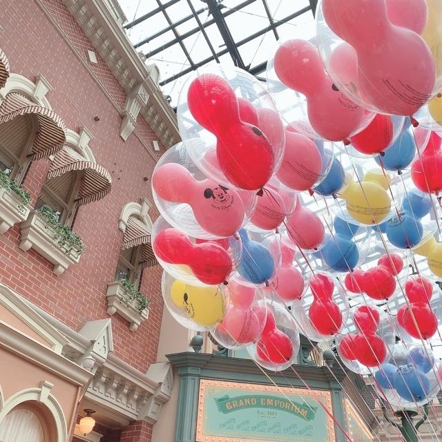 【 TokyoDisneyland 】風船が 、可愛いすぎる!_1_7