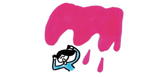 閉経エピソード 「血の海地獄タイプ」は服を汚すほどの大量出血を経験!