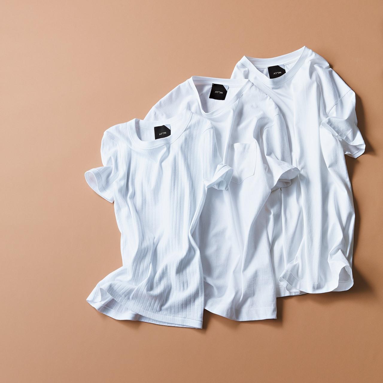 白いトップスを新調するなら、このシャツとTシャツ!_1_1-2