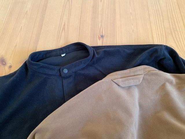 MUJI LABOの起毛ドロップショルダースタンドカラーシャツが使えます♡_1_1-2