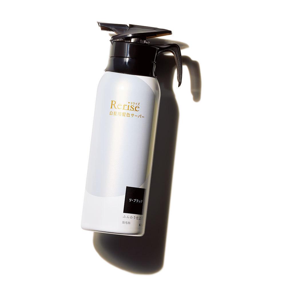 美容プロおすすめコスメ1  花王のリライズ 白髪用髪色サーバー リ・ブラック