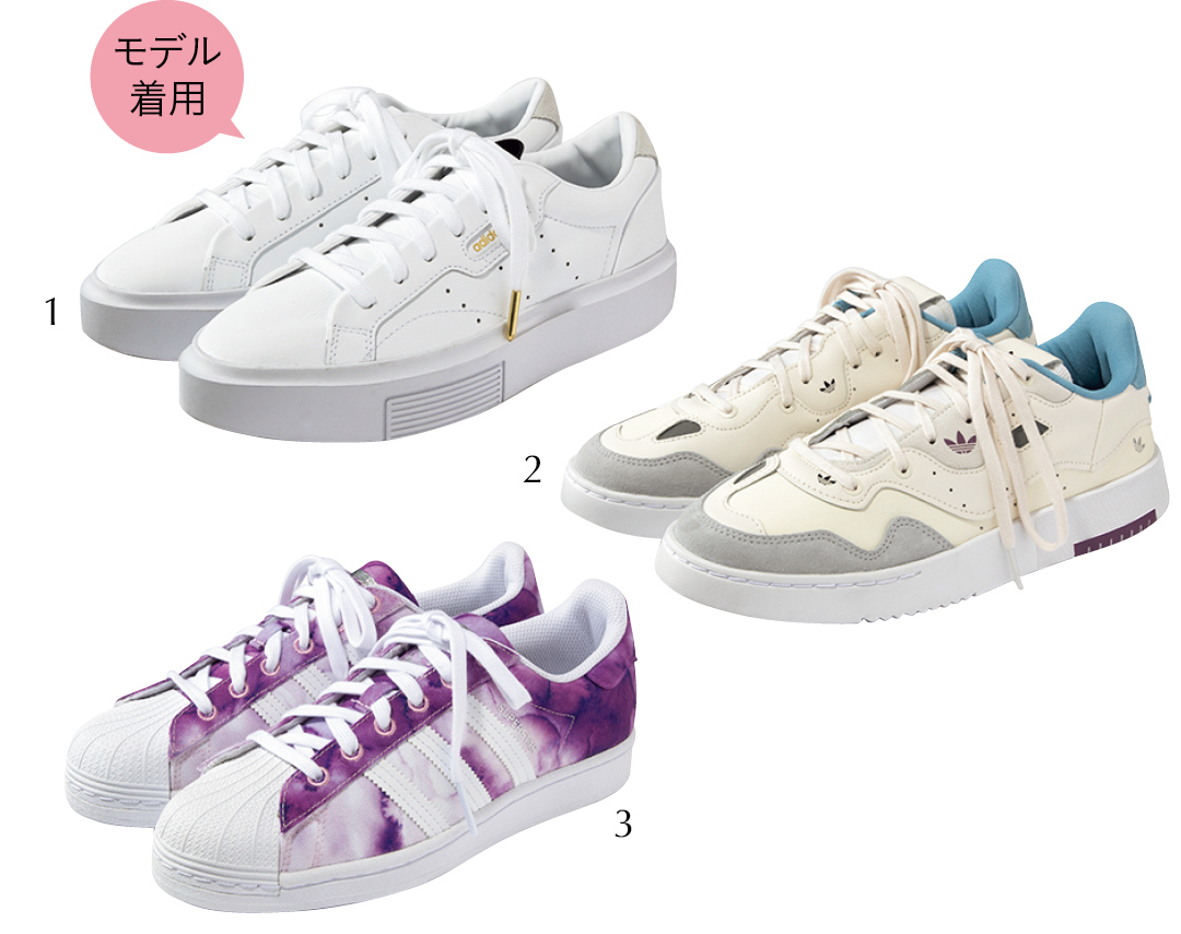 Photo Gallery|フェミニン派必見♡ 春の新作スニーカーをチェック!_1_21