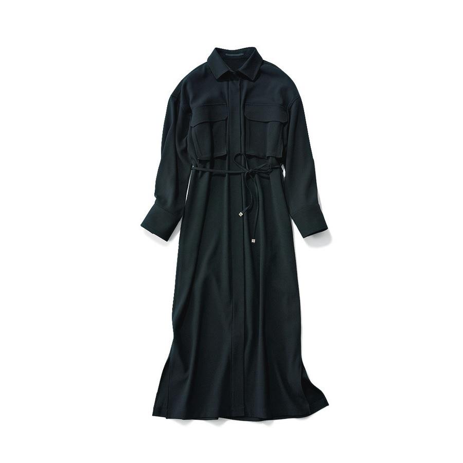 ファッション エーピー ストゥディオのシャツワンピース