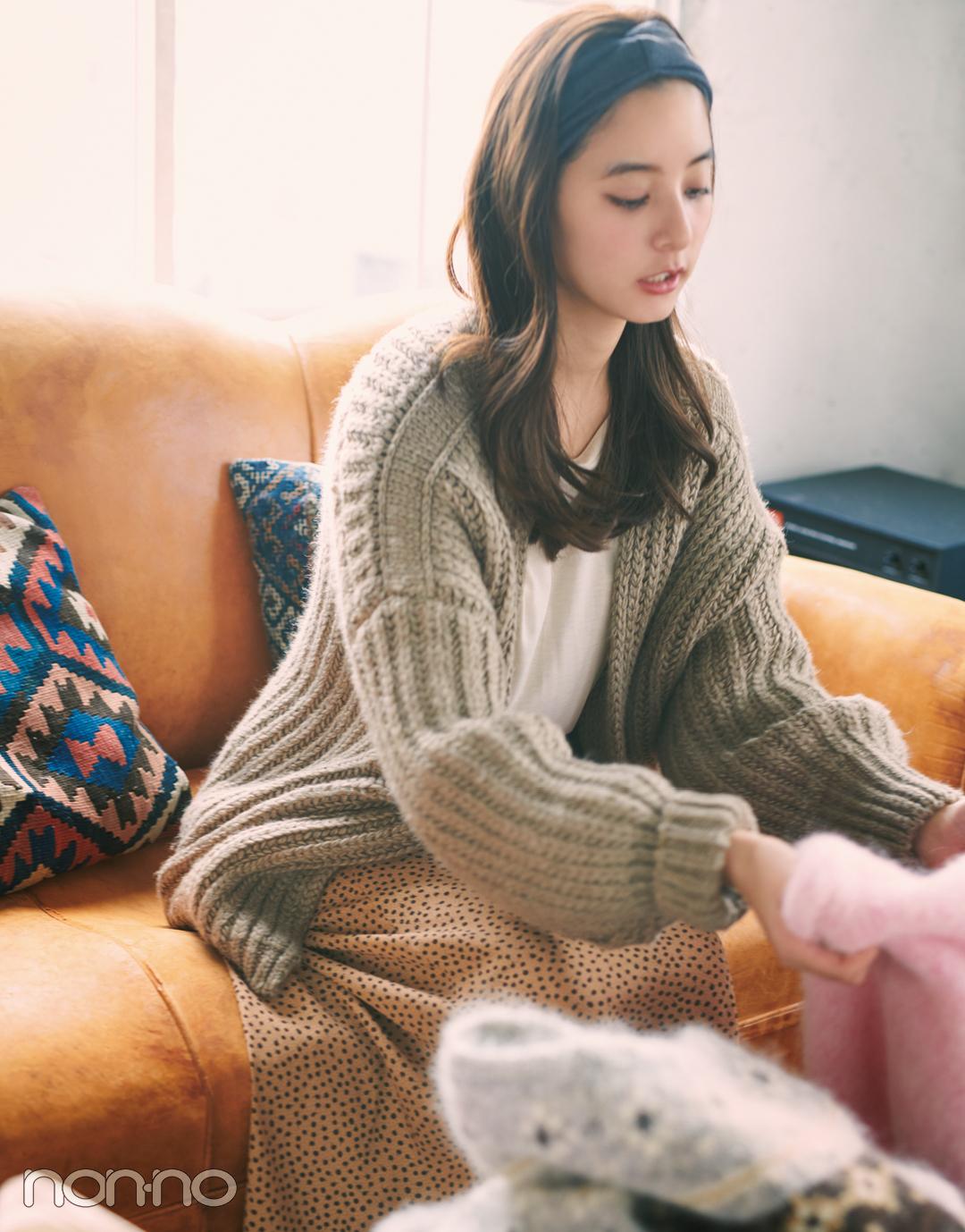 新木優子主演・ニットの恋愛物語。先輩からの告白、どうする?【ニットを着るなら、エモいほう。vol.4】_1_5
