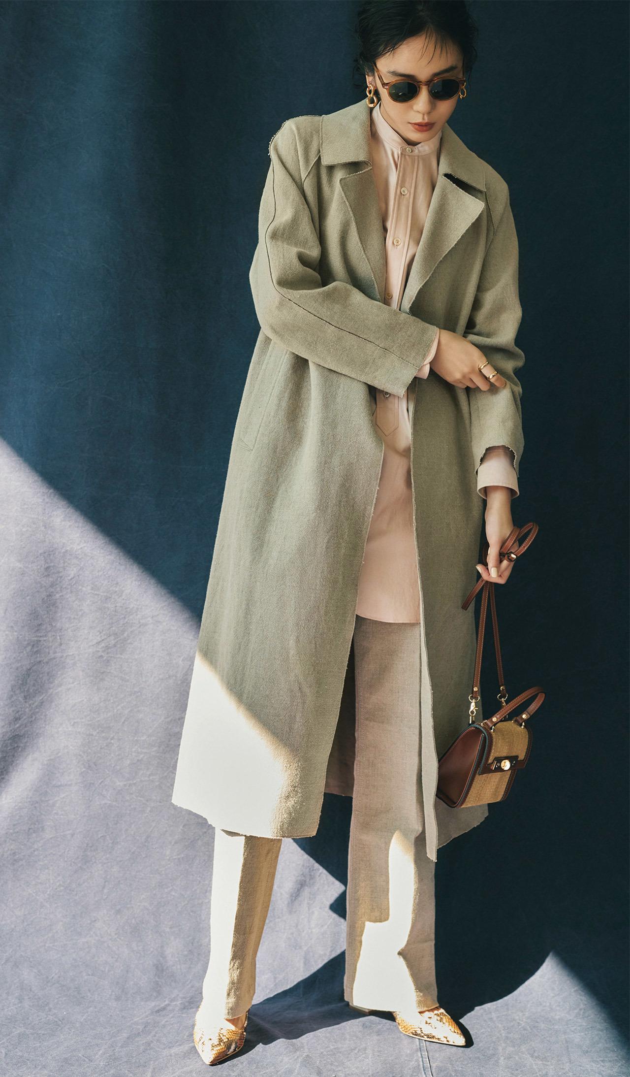 SPRING COAT × PANTS