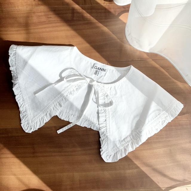 つけ襟コーデのバリエーション♡セーター・Tシャツ・ワンピース‼︎_1_1